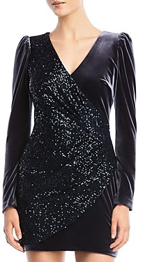 Bailey 44 Selby Sequined-Panel Dress
