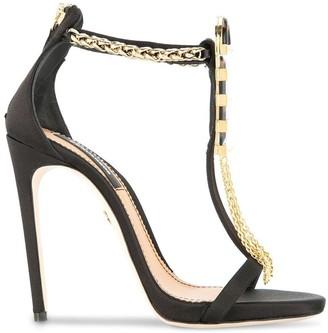 DSQUARED2 open toe embellished sandals