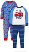 Mothercare Boy's 2 Pack Pyjama Sets,(Manufacturer Size: 104 cms)