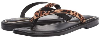 Kenneth Cole New York Mello Flip-Flop (Natural Lepoard) Women's Shoes