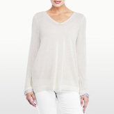 NYDJ Two-Fer Sweater