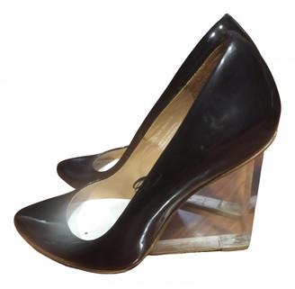 Maison Martin Margiela Pour H&m Black Patent leather Heels