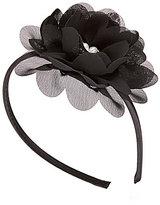 Copper Key Pearl Flower Headband