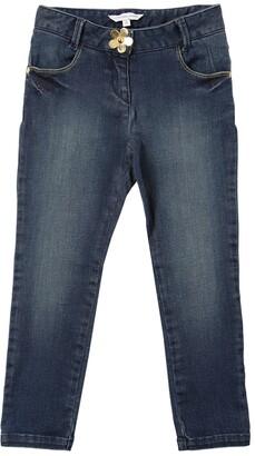 Little Marc Jacobs Stretch Cotton Blend Denim Jeans