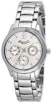 Kenneth Cole Men's 37mm Steel Bracelet & Case Quartz Silver-Tone Dial Analog Watch 10029558