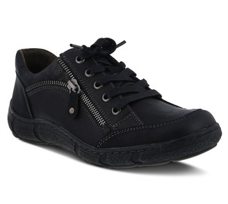 Spring Step Lace-Up Loafers - Elva