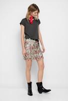 Zadig & Voltaire Jaliz Print Deluxe Skirt