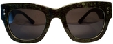 Moncler Green Sunglasses