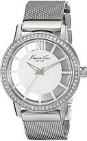 Kenneth Cole New York Women's KC4954 Transparency Dial Stones Detail Watch
