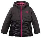 The North Face Dark Grey Carly Insulated Waterproof Jacket