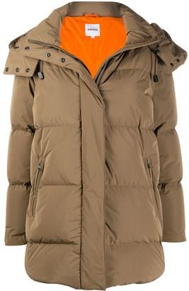 Aspesi Hooded Down Puffer Coat
