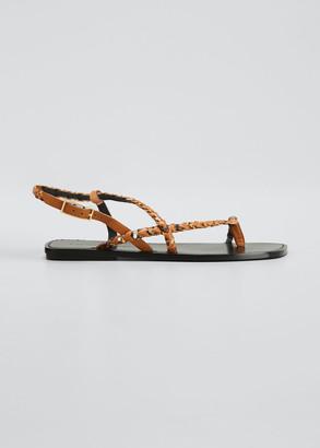 Sigerson Morrison Natasha Flat Sandals