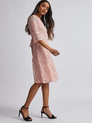 Dorothy Perkins Petite Blush Tilly Dress