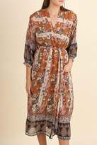 Umgee USA Snap Waist Kimono