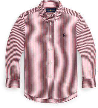 Ralph Lauren Striped Cotton Poplin Shirt