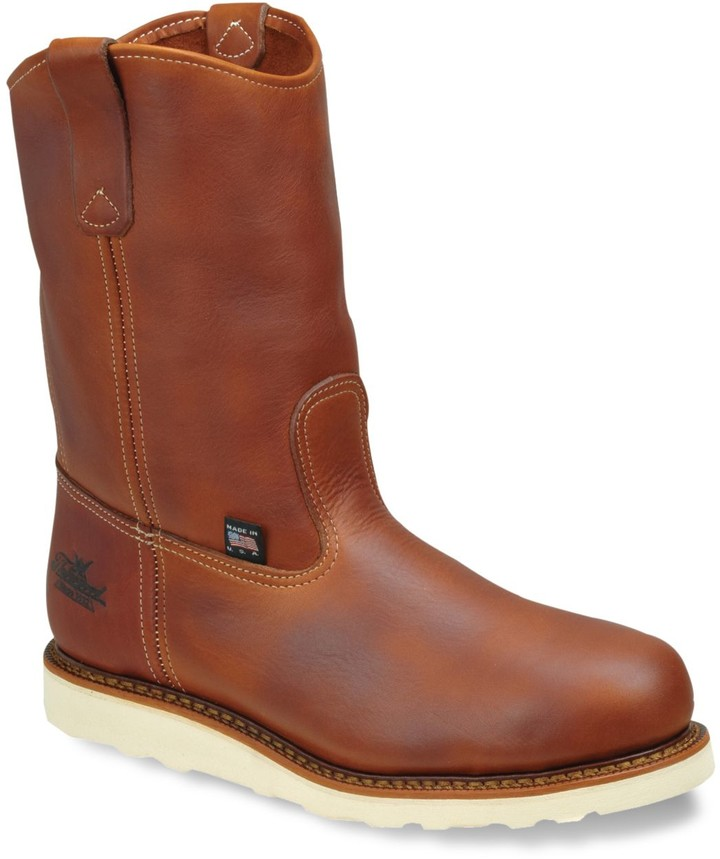 a559ccc3641 American Heritage Wellington Men's Safety-Toe Work Boots