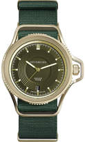 Givenchy GY100181s03 Seventeen yellow gold-plated and leather watch