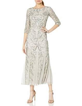 Pisarro Nights Women's Long Sleeve LACE Gown