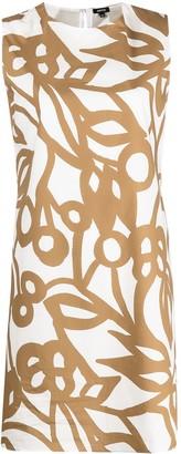 Aspesi Floral-Print Cotton Shift Dress