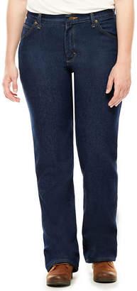 Red Kap Womens Straight-Leg Jeans - Short