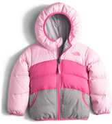 The North Face Girls' Moondoggy Hooded Reversible Down Coat, Size 2-4