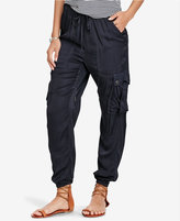 Denim & Supply Ralph Lauren Satin Cargo Jogger Pants