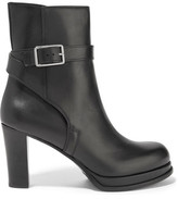 Acne Studios Opal Leather Ankle Boots
