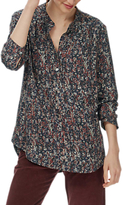 Brora Painterly Floral Tunic Top