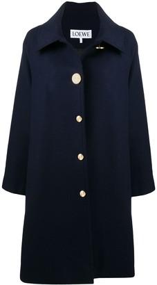 Loewe Loose-Fit Single-Breasted Coat