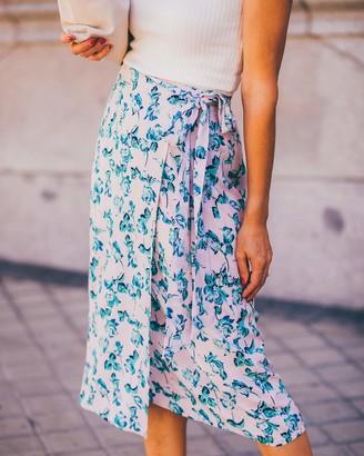 The Drop Women's Floral Print Wrap Skirt by @balamoda