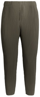 Homme Plissé Issey Miyake Cropped Plisse Trousers