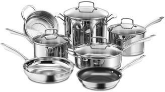 Cuisinart Professional Stainless Steel 11-pc. Cookware Set