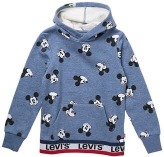 Levi's Disney Mickey Mouse Print Pullover Hoodie