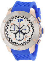 Mulco MW2-6313-041 Men's Prix Blue Silicone Watch with Chronograph