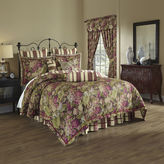 Waverly Floral Flourish 4-pc. Reversible Comforter Set