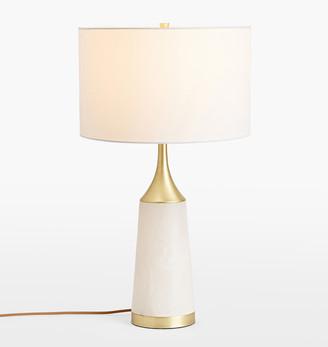 Rejuvenation Carnes Alabaster Table Lamp