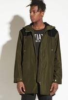 Forever 21 FOREVER 21+ INTD Longline Hooded Jacket