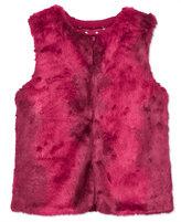 Tommy Hilfiger Faux-Fur Front Vest, Big Girls (7-16)