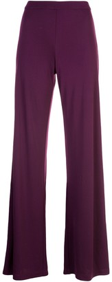 Natori Long Flared Trousers