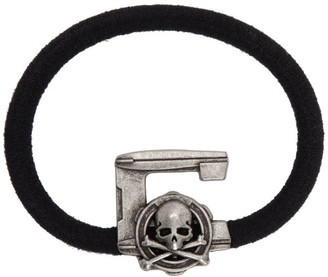 Mastermind Japan Black C2H4 Edition Logo Hair Tie