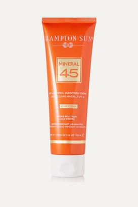Hampton Sun Spf45 Mineral Creme For Body, 130ml - Colorless