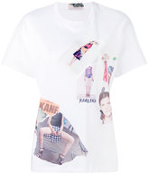 Christopher Kane scrapbook T-shirt - women - Cotton - XS