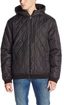 ZeroXposur Men's Reversible Quilted Sweater Fleece Jacket
