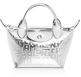 Longchamp Le Pliage Cuir Mini Leather Handbag