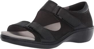 Aravon Women's Duxbury Two Strap Sandal