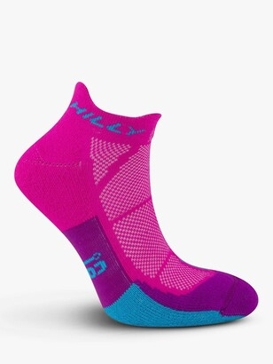 Hilly Compression Monoskin Cushion Running Socklets, Single Pair