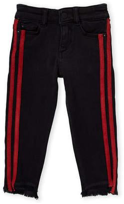 DL1961 Toddler Girls) Pop Black Chloe Skinny Jeans