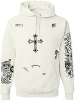 Allntrends Set Of 2 Justin Bieber Tattoo Hoodie And Sweatpants