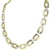 Roberto Coin Pois Moi 18K Yellow Gold Link 3.1cts Diamond Necklace