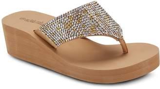 OLIVIA MILLER 'Happy' Women's Wedge Sandals